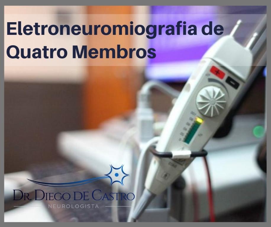 Eletroneuromiografia de 4 Membros
